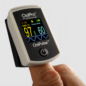 Fingertip Pulse-Ox Monitor