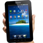 Samsung Galaxy Tab, Hello and Goodbye